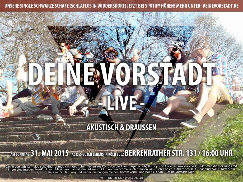 Deine Vorstadt beim Tag des guten Lebens in Köln Sülz (Promo)
